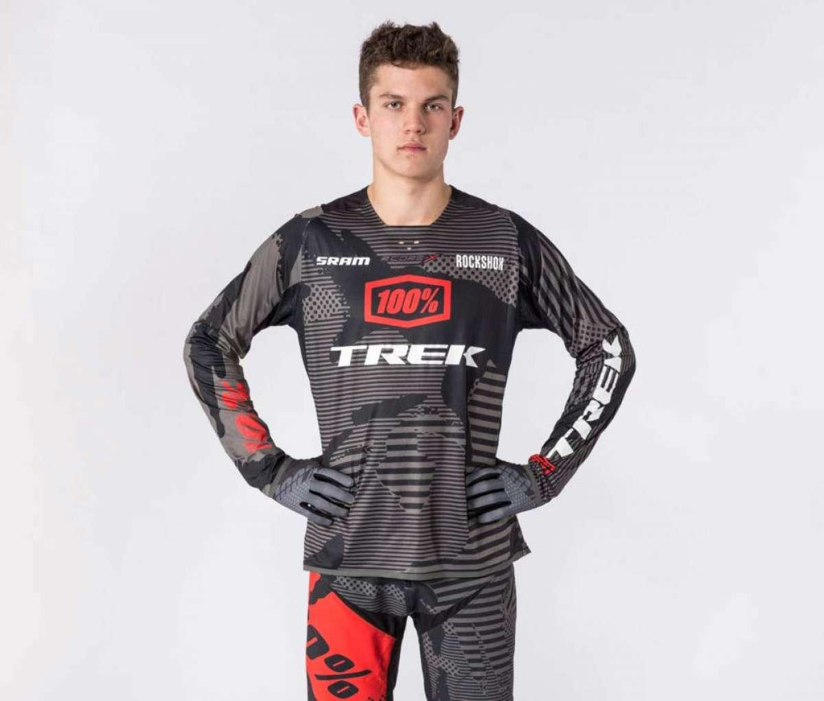El Trek Factory Racing DH desvela su segundo integrante: Ethan Shandro
