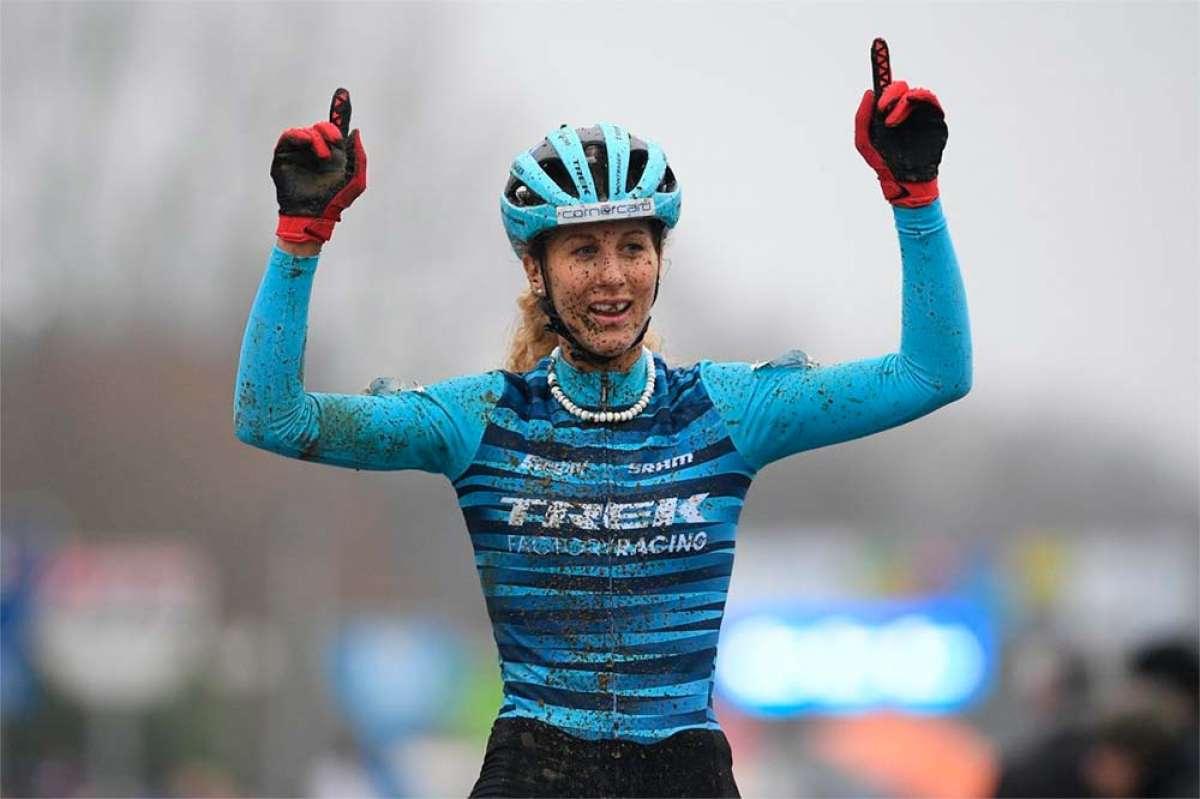 Así ganó Jolanda Neff a la campeona del mundo de ciclocross en el GP Sven Nys 2019