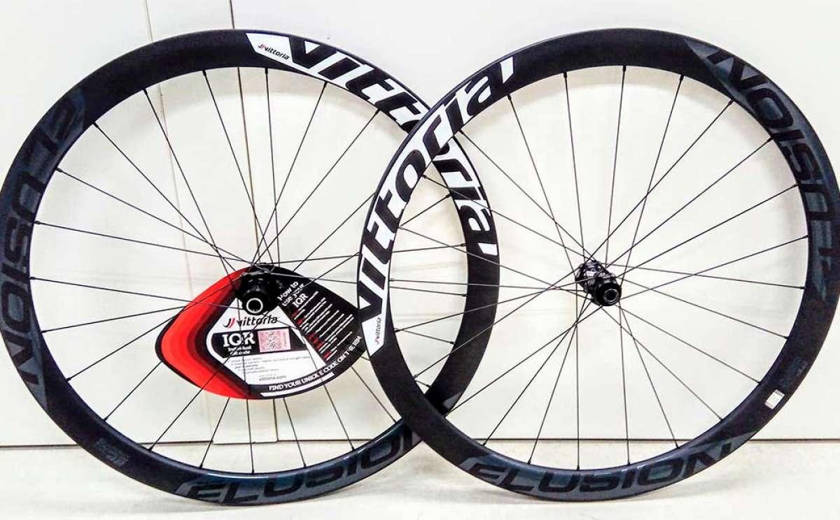 Vittoria Elusion Carbon RR, ruedas de carbono de peso y precio equilibrado para bicis de Carretera, CX y Gravel